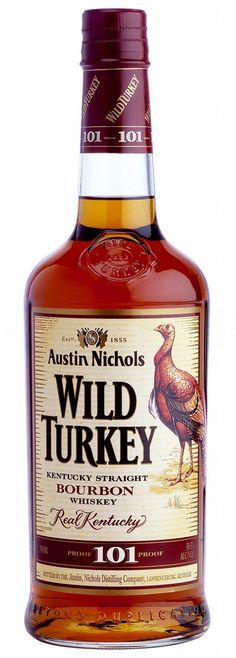 Wild Turkey - A lot of people like this. I don't. Too much bite and tastes like medicine to me.