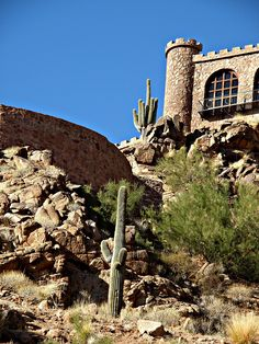 Castle on Camelback Mountain    Phoenix, AZ