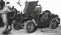 """M151 MUTT """"Jeep"""" Engine Removal: """"M151 Engine Four Cylinder OHV """"1961 US Army https://www.youtube.com/watch?v=8nLXRqHIkeE #Jeep #4x4 #AutoMechanics"""