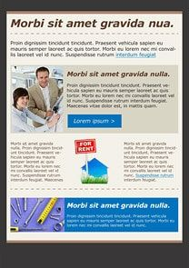 Motivation Blue Newsletter Template  Craig Sicilia