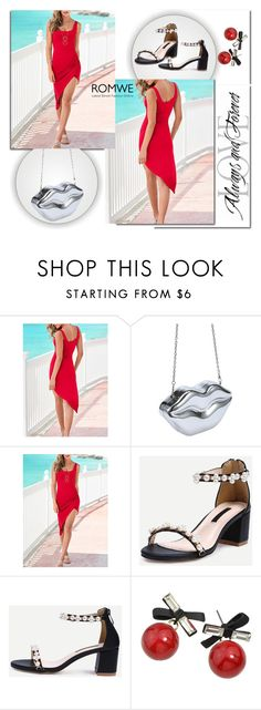 """ROMWE 12/7"" by melissa995 ❤ liked on Polyvore"