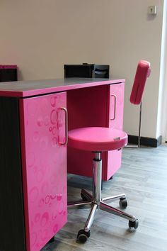 Nail bar stations designed and manufactured by Starabank Panel Products Ltd