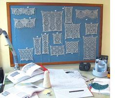 lace symposium. great description of the process of designing a particular shawl.
