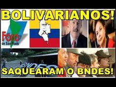 MAIOR ROUBO DO MUNDO! JORNAL mostra como LULA e DILMA ROUBARAM o BNDES p...