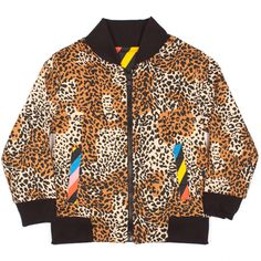 Leopard/Multi Reversible Bomber Jacket - Tees/Tops | Oh Baby London