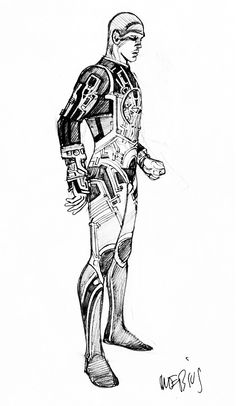Moebius - Tron, concept art (1982) ★ || CHARACTER DESIGN REFERENCES (https://www.facebook.com/CharacterDesignReferences & https://www.pinterest.com/characterdesigh) • Love Character Design? Join the Character Design Challenge (link→ https://www.facebook.com/groups/CharacterDesignChallenge) Share your unique vision of a theme, promote your art in a community of over 25.000 artists! || ★