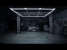 ISOTOPES v.01 - NONOTAK STUDIO - YouTube Golden Horse, Cool Garages, Linear Lighting, Orient Express, Light And Space, Light Design, Lobbies, Light Installation, Set Design