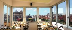 Albergo Hotel Panorama. Italy, Firenze. Breakfast Room