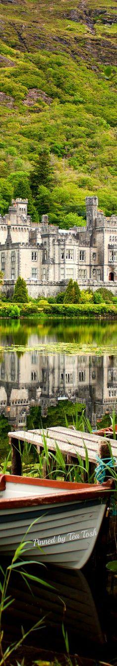 Kylemore Abbey in Connemara, Country Galway, Ireland