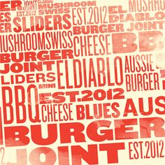 Burger Joint by Warsheh , via Behance