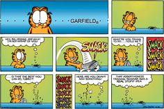 Popular garfield comic strips