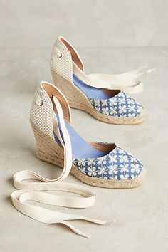 Soludos Eyelet Espadrilles | Anthropologie | #affiliate