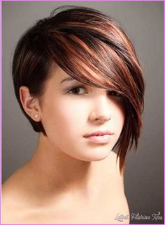 cool Short haircut for fat faces