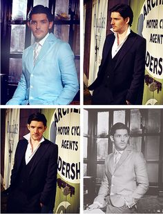 Colin Morgan. Dapper fella.