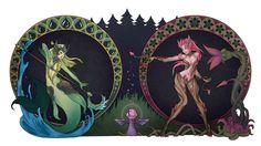 Namie Zyra League of Legends Girls Apple_Tinker 2560x1440
