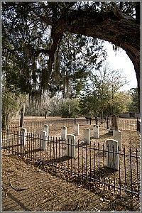 Rivers Bridge State Historic Site in Ehrhardt, SC, and Musgrove Mill State Historic Site in Clinton are battlefields in the state park system where fierce fights took place. The Confederate Cemetery at Rivers Bridge is shown here.  #RevWar #CivilWar