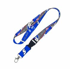 "NASCAR Kasey Kahne Lanyard by WinCraft. $8.87. Officially licensed Lanyards are available in variety of sizes and style, but our most popular is has 3/4"" width, metal clip, and plastic break away feature. These lanyards come in your favorite team's vibrant colors. The J-hook end is perfect for keys, badges, and ticket holders. This item is made both in China and the U.S."