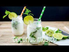 The Best Damn Coconut Mojito You'll Drink All Summer! Bacardi Mojito, Mojito Cocktail, Summer Cocktails, Coconut Mojito, Steak Rolls, Most Popular Cocktails, Strawberry Mojito, Mojito Recipe, Fun Drinks