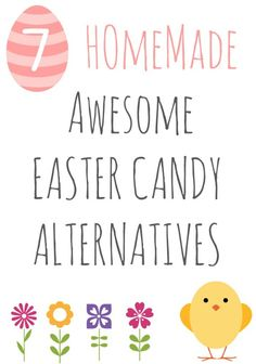 7 Homemade Easter Candy Alternatives from Avlo at Inner Child Fun. Ideas include Homemade Sidewalk Chalk, Homemade Puppet Kit and Mini Felt Bunnies. Easter Candy, Hoppy Easter, Easter Treats, Easter Eggs, Holiday Crafts, Holiday Fun, Spring Crafts, Diy Ostern, Easter Crafts For Kids