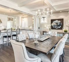 Nice 75 Amazing Modern Farmhouse Dining Room Decor Ideas Idecorgram