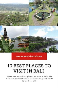 10 Best Places To Visit In Bali - Top tourist destinations in Bali to explore. https://myownwaytotravel.com/10-best-places-visit-bali/ #travel #asia #travelasia