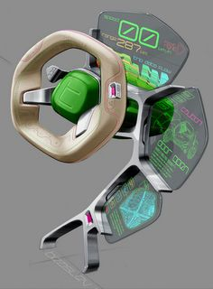 Car UI disign sketch