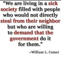 Sick society...