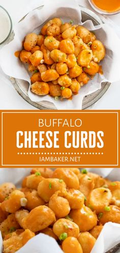 Buffalo Cheese Curds are a must-try! In this recipe, classic cheese curds are breaded in a homemade buffalo sauce and fried to a crisp golden brown. With just the right amount of kick, this ooey gooey appetizer can be enjoyed plain or with your favorite dipping sauce!
