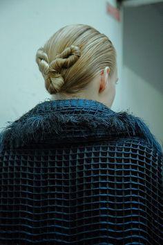 Iris Van Herpen AW15 Dazed backstage womenswear