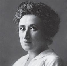 Rosa Luxemburg, Wer sich nicht bewegt, spürt die Ketten nicht., um 1910.
