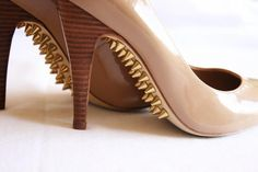 DIY Spikes : DIY spiked shoe soles  :   DIY Shoes DIY Refashion