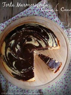 Ogni riccio un pasticcio - Blog di cucina: Torta marmorizzata cocco e cioccolato - senza uova, senza latte, senza burro