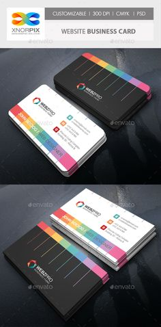Website Business Card - Creative Business Cards Download here : https://graphicriver.net/item/website-business-card/19286782?s_rank=208&ref=Al-fatih