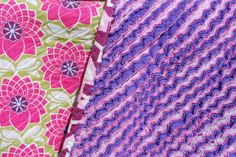 Faux chenille blanket by sagedogmn, via Flickr