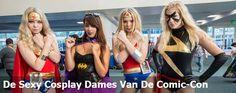 De Sexy Cosplay Dames Van De Comic-Con 2016
