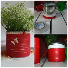 My hand made flower pot