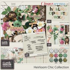 Heirloom Chic Collection by Aimee Harrison