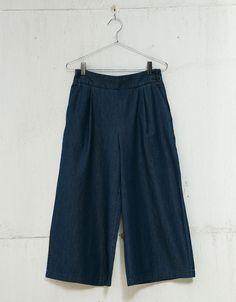 Culotte denim. Descubre ésta y muchas otras prendas en Bershka con nuevos productos cada semana