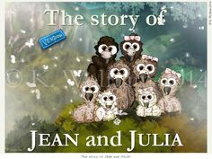 The story of JEAN and JULIA © K. Wolfram (keyword: vulture)