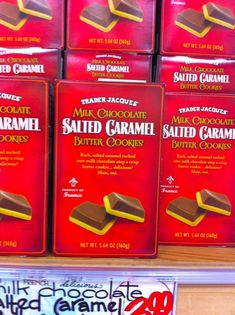 Trader Joes Salted Caramel Butter Cookies