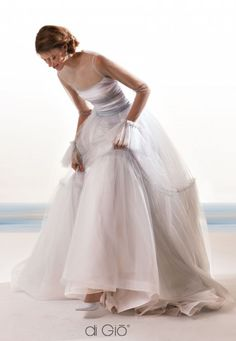 Featured Dress: Le Spose di Giò; Wedding dress idea • Maude and Hermione on Pinterest