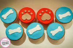 Sweet Cucas and Cupcakes by Rosângela Rolim: Cupcakes Decorados Tema Patrulha Canina