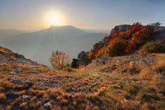 Закат на Чатыр-Даге
