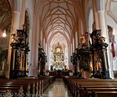 Interior of Nonnberg Abbey