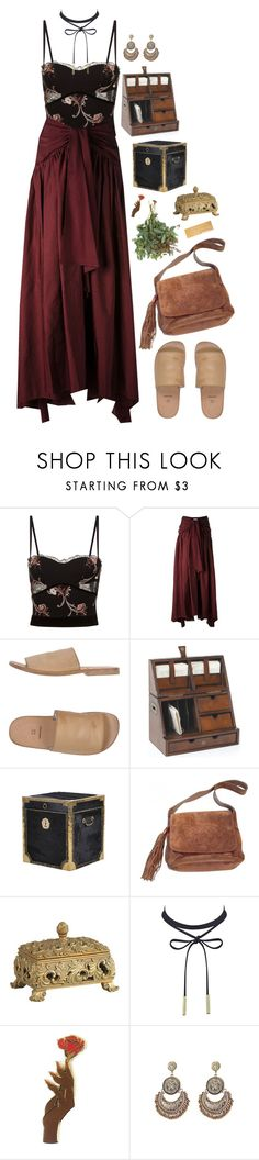 """""""Burned like a moth in a flame"""" by taryn-ash ❤ liked on Polyvore featuring La Perla, Rosie Assoulin, Moma, Chanel, Shabby Chic and Dunhill"""