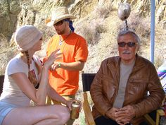 Laura Cayouette and Dennis Hopper on the set of Hell Ride. http://www.lauracayouette.com