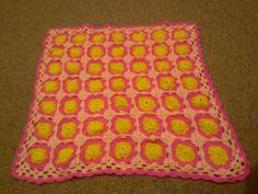 Lovely baby blanket in my own pattern love it