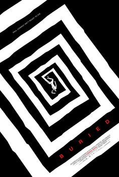 """MP779. """"Buried"""" Movie Poster by Ignition Print (Rodrigo Cortés 2010) / #Movieposter"""