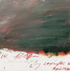 Cy Twombly. LOVE THIS
