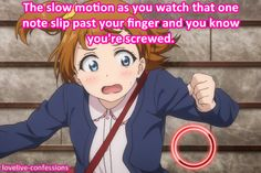 Love Live! School Idol Project Confessions~this is so true